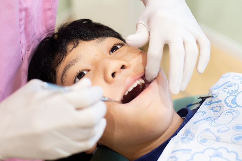 こどものむし歯治療